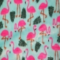 "Preview: Polyesterfleece ""Flamingo"""