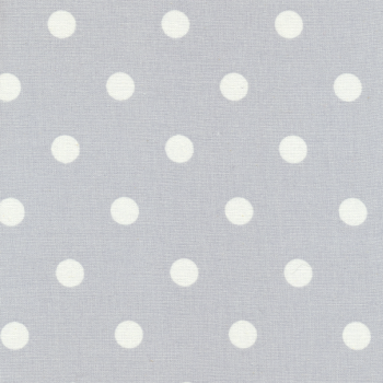 "Wachstuch ""Dots Big"" Light Grey, AU Maison"