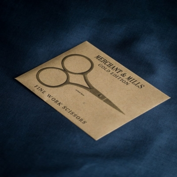 Schere, Fine Work Scissors gold Edition, Merchant & Mills