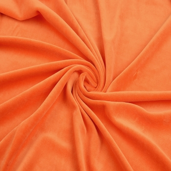 Nicky -Velour, orange