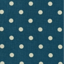 "Wachstuch ""Dots Big"" Dusty Petrol/Spring Green, AU Maison"